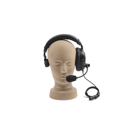 Intercom headset - single muff
