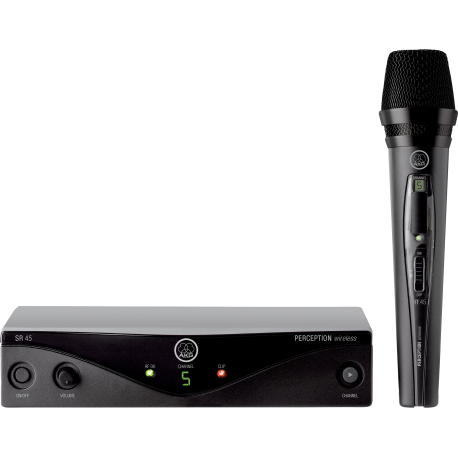 Perception Wireless Vocal Set BD U2 High-Performance Wireless Microphone System