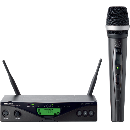 WMS470 Vocal Set C5 BD7 Professional Wireless Microphone System