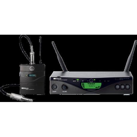 WMS470 Instrumental Set BD1 Professional Wireless Microphone System