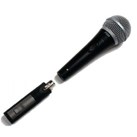 Solo Series 06XLRMICBLK11 Wireless XLR Microphone Adaptor for Dynamic Microphones