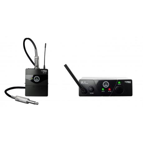 WMS40 Mini Single Instrumental Set BD US45B Wireless Microphone System