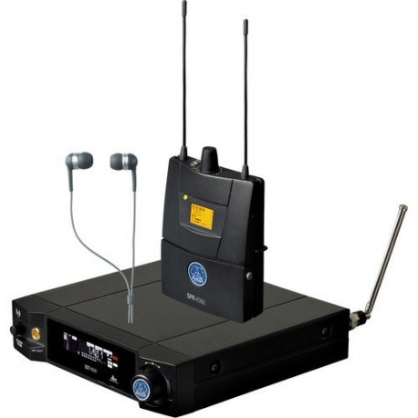 IVM4500 IEM Set BD8-50mW Reference Wireless In-Ear-Monitoring System