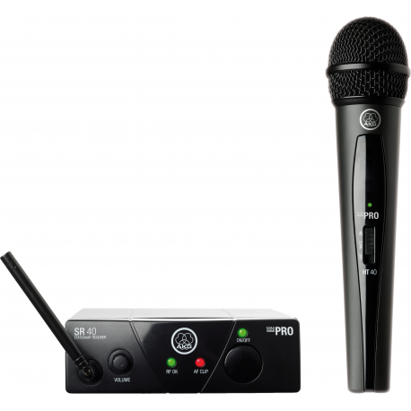 WMS40 Mini Single Vocal Set BD US45C Wireless Microphone System
