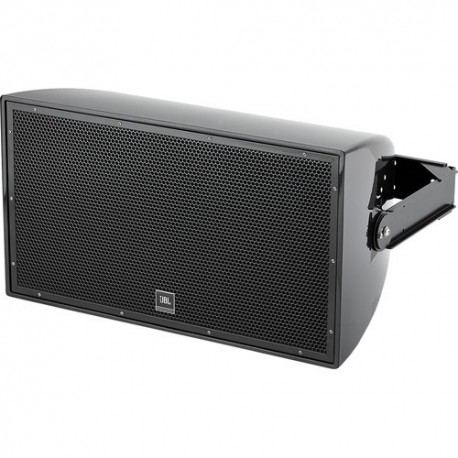 AW295-BK All Weather High Power 2-Way Loudspeaker With Rotatable Horn In Black