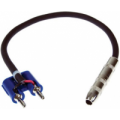 "S16BQF-1 1 ft. – Banana to ¼"" female Adapter Speaker Cable"