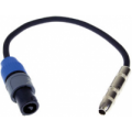 "S16NQF-1 1 ft. –¼"" female to Speakon Adapter Speaker Cable"