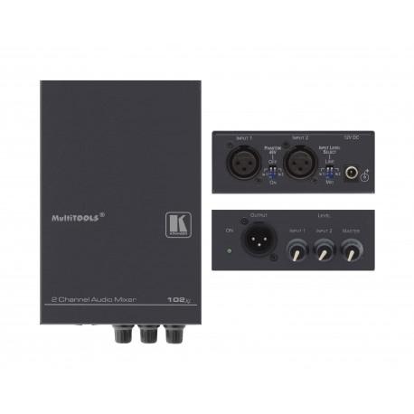 102xl 2 Channel Balanced Audio Mixer