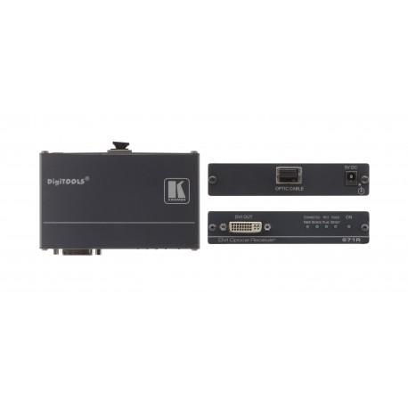671R DVI over Fiber Optic Receiver