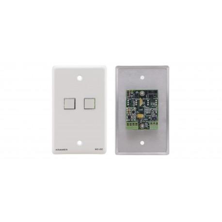RC-2C 2 Button RS-232 & IR Controller