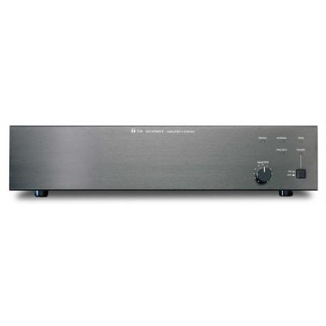 TOA P-912MK2 UL 900 Series Power Amplifier- 120 W- 1 Module Port- Black (2U)