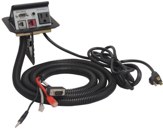 TNP121 with cables